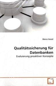 Qualitätssicherung für Datenbanken