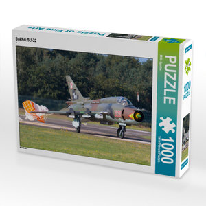 CALVENDO Puzzle Sukhoi SU-22 1000 Teile Lege-Größe 64 x 48 cm Fo