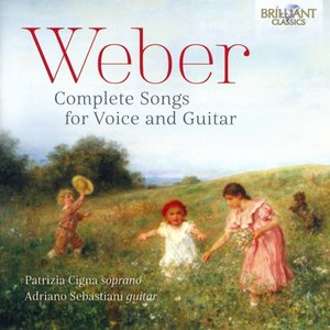 Weber-Complete Songs For Voice And Guitar