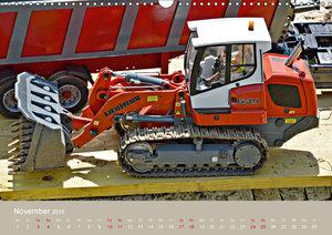Nutz u. Baufahrzeugmodelle beim Dampfmodellbautreffen in Bisinge