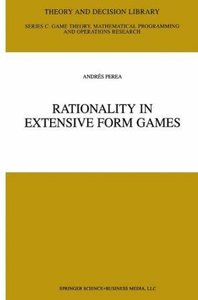 Rationality in Extensive Form Games