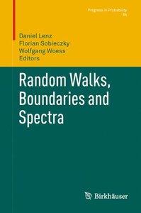 Random Walks, Boundaries and Spectra