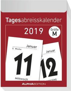 Tagesabreißkalender L 2019