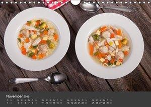 Food - Genuss aus der Küche (Wandkalender 2019 DIN A4 quer)
