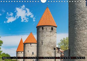 Ein Wochenende in Tallinn (Wandkalender 2019 DIN A4 quer)