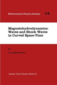 Magnetohydrodynamics: Waves and Shock Waves in Curved Space-Time