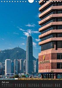 Metropole Hongkong (Wandkalender 2019 DIN A4 hoch)