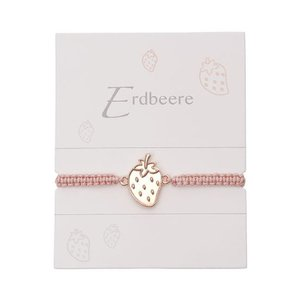 Armband mit Element - Erdbeere