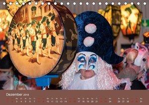 S ganz Johr FasnachtCH-Version (Tischkalender 2018 DIN A5 quer)