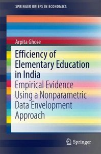 Efficiency of Elementary Education in India