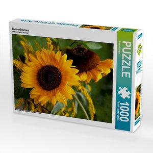 Sonnenblumen 1000 Teile Puzzle quer