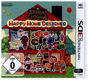 3DS Animal Crossing Happy Home Designer, 1 Nintendo 3DS-Spiel