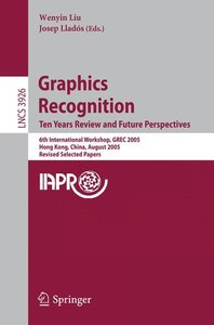 Graphics Recognition. Ten Years Review and Future Perspectives