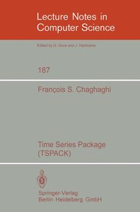 Time Series Package (TSPACK)