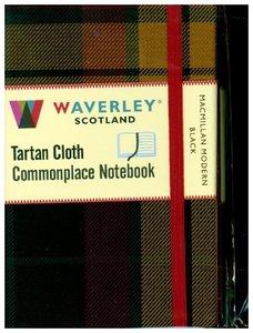 MacMillan Modern Black: Waverley Genuine Tartan Cloth Commonplac