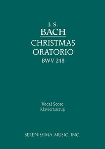 Christmas Oratorio, Bwv 248 - Vocal Score