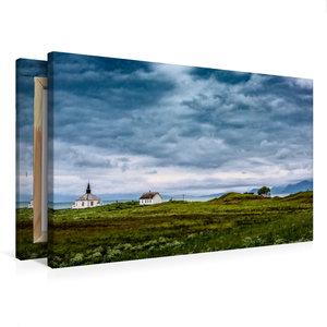 Premium Textil-Leinwand 75 cm x 50 cm quer Vesterålen