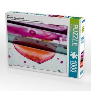 Ein Motiv aus dem Kalender Abstrakte Aquarellfarben 1000 Teile P