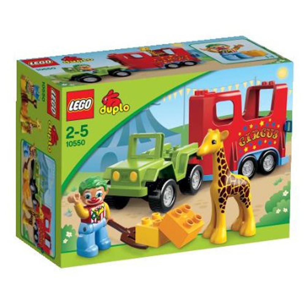 LEGO® Duplo 10550 - Zirkustransporter - zum Schließen ins Bild klicken
