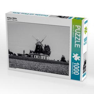 Klützer Mühle 1000 Teile Puzzle quer