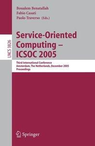 Service-Oriented Computing - ICSOC 2005