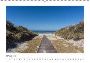 JUIST 2019 - strandsüchtig - (Wandkalender 2019 DIN A2 quer)
