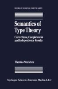 Semantics of Type Theory