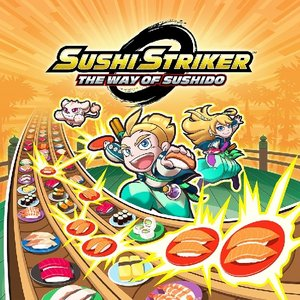 Sushi Striker, The Way of Sushido, 1 Nintendo Switch-Spiel