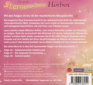 Die große Sternenschweif Hörbox Folge 16-18 (3 Audio-CDs)
