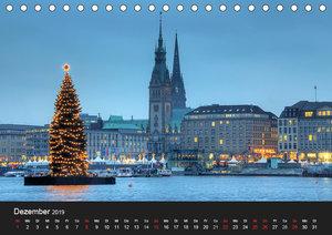 Hamburg (Tischkalender 2019 DIN A5 quer)