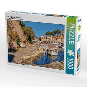 Cala Figuera, Mallorca 1000 Teile Puzzle quer