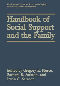Handbook of Social Support and the Family