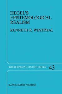 Hegel's Epistemological Realism