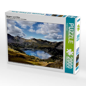 Bergsee Lac d´Allos 2000 Teile Puzzle quer