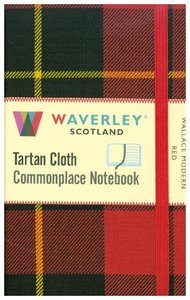 Wallace Modern Red: Waverley Genuine Tartan Cloth Commonplace Po