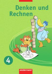 Denken und Rechnen 4. Schülerband. für Grundschulen. Nordrhein-W