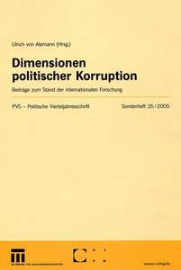 Dimensionen politischer Korruption