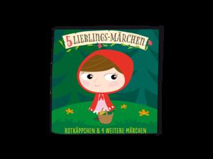 01-0147 Tonie-5 Lieblings-Märchen - Rotkäppchen und weitere Märc