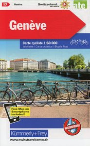 Radwanderkarte Genève mit Ortsindex (17)