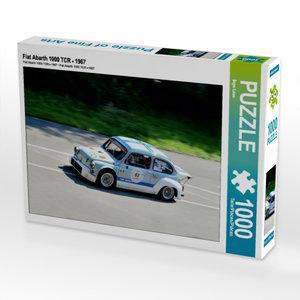 CALVENDO Puzzle Fiat Abarth 1000 TCR - 1967 1000 Teile Lege-Größ