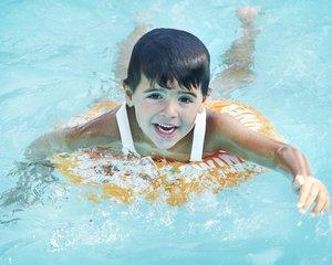 Freds Swim Academy 10220 - Swimtrainer Classic, orange, Gewicht