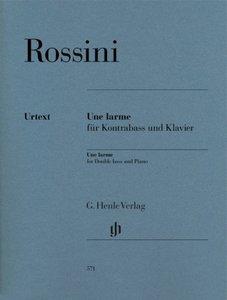 Une larme für Kontrabass und Klavier