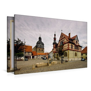 Premium Textil-Leinwand 120 cm x 80 cm quer Harzgerode