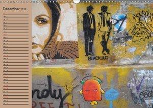 Street-Art Berlin (Wandkalender 2019 DIN A3 quer)