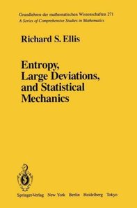Entropy, Large Deviations, and Statistical Mechanics