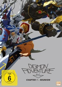 Digimon Adventure tri. - Chapter 1 - Reunion, 1 DVD
