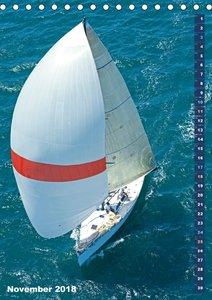 Ahoi Seefahrer: Spaß beim Segeln (Tischkalender 2018 DIN A5 hoch