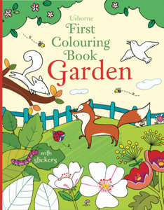First Colouring Book Garden