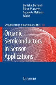 Organic Semiconductors in Sensor Applications