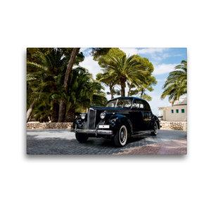 Premium Textil-Leinwand 45 cm x 30 cm quer Packard 120